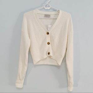 UO Cropped Cardigan